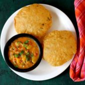 Poori with Potato Curry