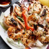 Shrimp Malai Kabab